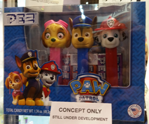 Paw Patrol Pez Tripack with Skye, Chase and Marshall
