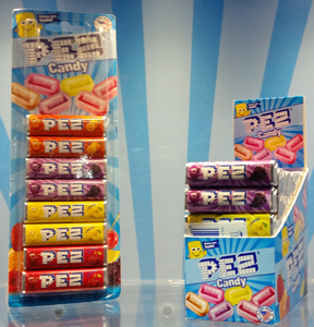 Updated Pez Candy Packaging