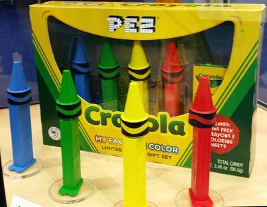 Crayola Pez Gift Set