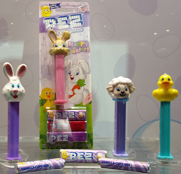 2018 Easter Pez Package Refresh