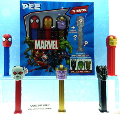 Marvel Pez Mystery box