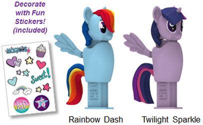 My Little Pony Connectibles Pez