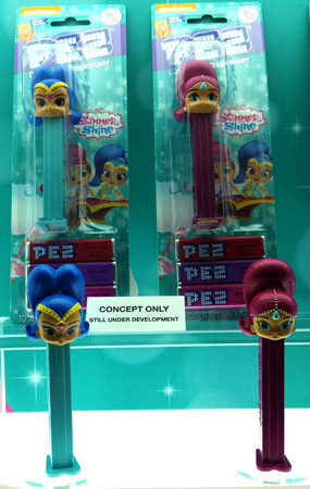 Shimmer and Shine Pez