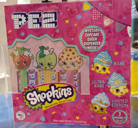 Shopkins Pez Mystery Box