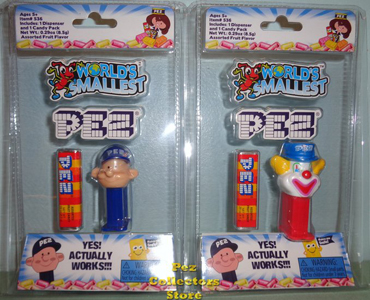 Worlds Smallest Pez Pal Boy and Peter Pez