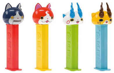 European Yo-Kai Watch Pez Set