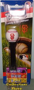 2018 Elongated SF Logo Baseball Pez MOC