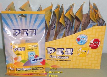Pez Fun Dippers 6ct Bags