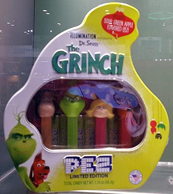 The Grinch Pez Gift Tin