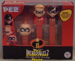 Incredibles 2 Pez Tripack
