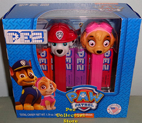Marshall and Skye Pez Twin Pack
