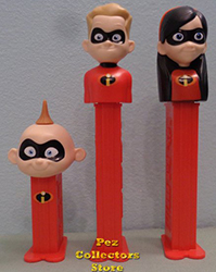 Incredibles 2 Pez with mini Jack Jack Loose