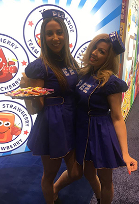 Pez Girls at Sweets and Snacks Expo