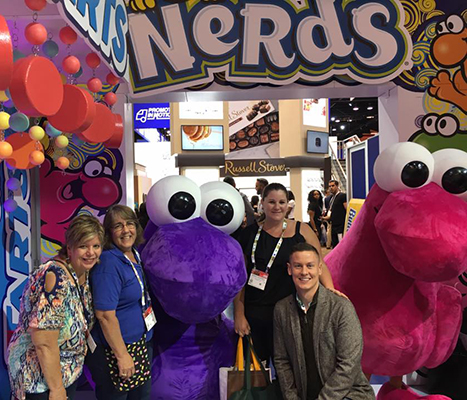 Pez Nerds at 2018 Sweets and Snacks Expo