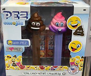 Poop Emoji Pez Twin Pack