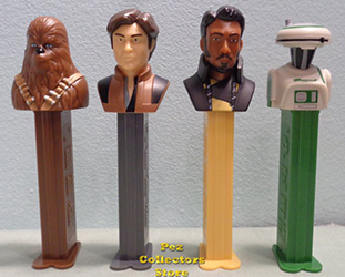 Han Solo Pez Set Loose