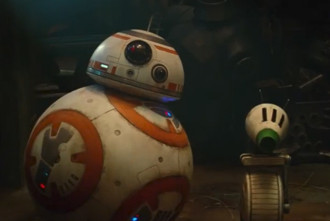 BB-8 and D-0 Droids