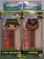 Caddyshack Carl and Gopher POP! PEZ Bundle