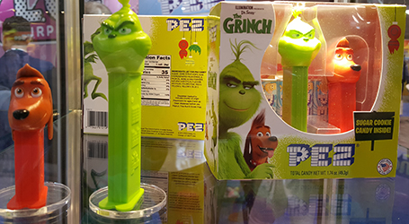 Grinch and mini Max Pez Twin Pack