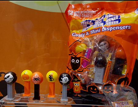 Halloween Mini Pez Bag