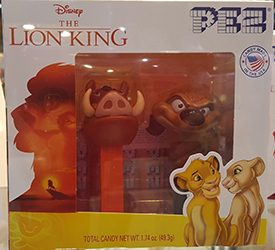 Lion King Pumbaa and Timon Mini Pez Twin Pack