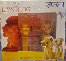 Lion King Nala and Simba Mini Pez Twin Pack