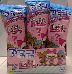 LOL Polybag Pez Counter Display