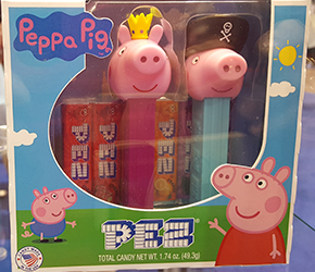 Princess Peppa and Pirate George Pez Twin Pack