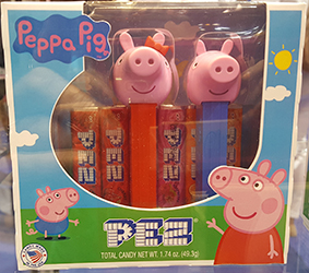 Peppa the Pig and George Pez Twin Pack