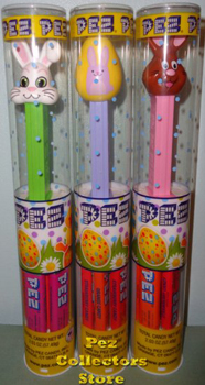 Easter Tubes with new Pez for 2016