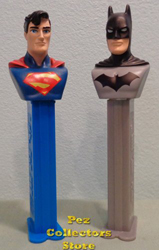 European Superman and Batman Pez Loose