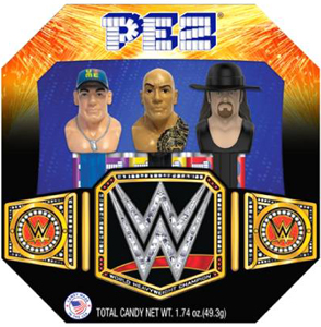 WWE Boxed Pez Set