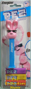 Energizer Bunny Pez Mint on Card