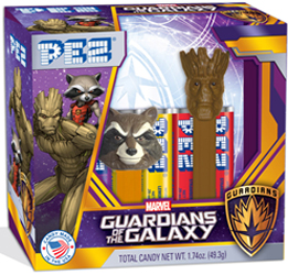 Marvel Guardians of the Galaxy Pez Twin Pack