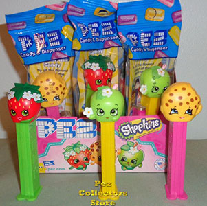 Shopkins Pez Set MIB