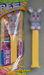 2019 Full Body Blue Bunny Easter Pez