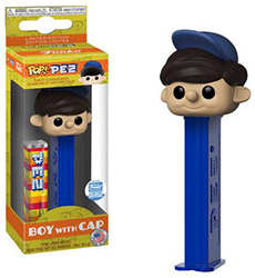 Boy with Cap Pez Pal Pop Pez with Funko Sticker