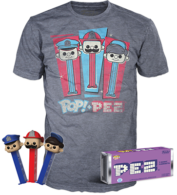 Funko POP PEZ Pez Pal T-Shirt Boxed set