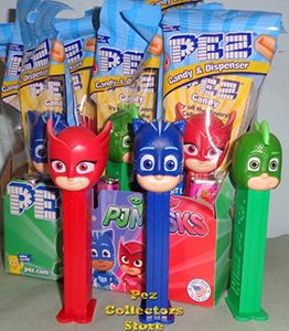 PJ Mask Pez Mint in Bag