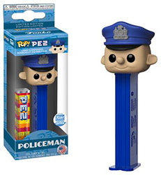 Policeman Pez Pal with Funko Sticker