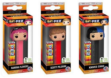 Scott Pilgrim Pop Pez Set