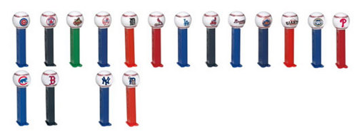 New Major League Baseball Pez for 209