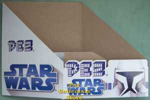 Star Wars Clone Wars Counter display box