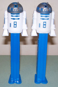 New R2D2 (left) and older R2D2 (right)