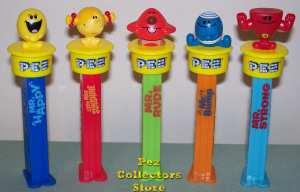 Mr Men Pez Set