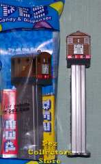 Toby Brown Tram Engine no. 7 Pez from Thomas and Friends