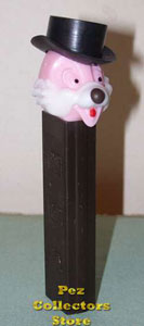 Pink Face Brown Stem Chip Pez