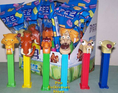 Ice Age 3 Dawn of the Dinosaurs Pez