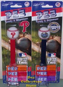 Phillies and Yankees Stadium MLB Pez
