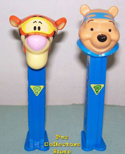 Tigger and Pooh Sleuth Pez